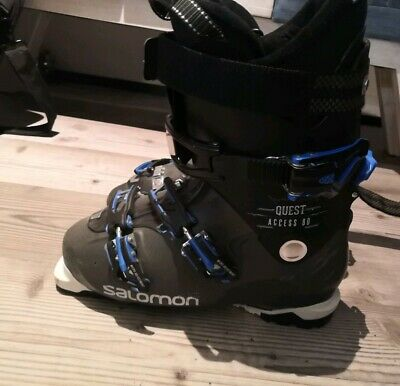 SALOMON HERREN SKISCHUHE Quest Access 80 anthraciteschwarz