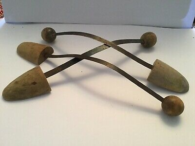 Lot Of 3 Vintage Mixed Shoe Trees