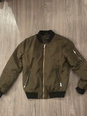 River Island Ladies/girls Khaki Bomber Size 8