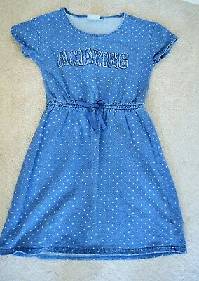 Next girls blue dress size 10 years