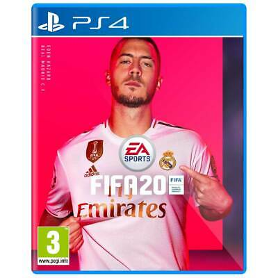 FIFA 20 Game Cover For PS4 Cover Art Box Art Disc Case, Hazard Real Madrid