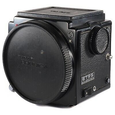 Zenza Bronica ETRS 6x4.5 Body Only / Medium Format 645 Camera + 135 Split Screen