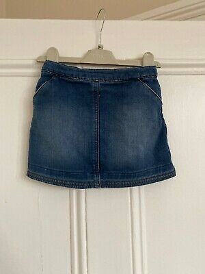 Girls Blue Denim Skirt From Next Age 2-3 Years