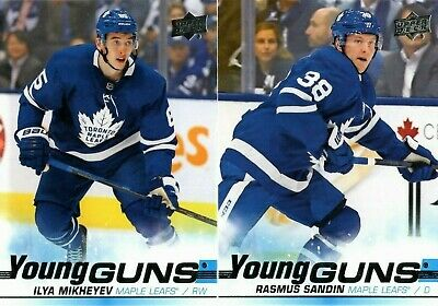2019-20 Upper Deck Series 1 Young Guns Rookie Rc Singles #201-250 - You Pick