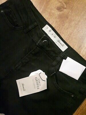 bnwt black relaxed primark skinny jeans size 10