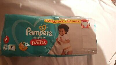 Monatsbox 1er Pack 9-15 kg Pampers Baby-Dry Pants 4 1 x 160 St/ück Gr
