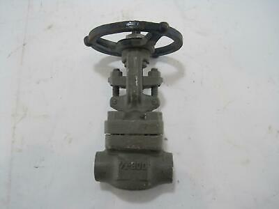 """New OIC 8GT-6 Stainless Steel Gate Valve 1/2"""" 800lbs"""