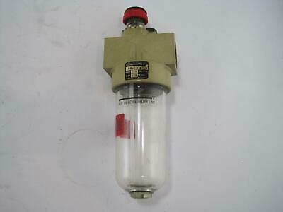 Norgren L08-200MPCA Compressed Air Lubricator 150 PSIG Inlet 125°F Max Temp