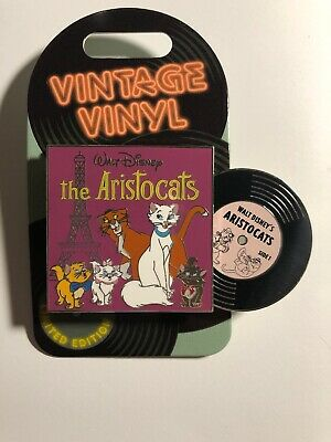 Disney Parks Aristocats Vintage Vinyl 2019 Limited Edition Pin New In Hand