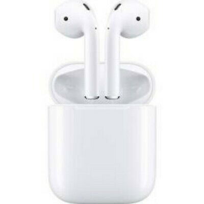 AirPods 2nd Generation for Apple New White Colour with Wireless Charging Case