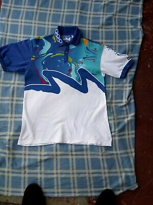 Sydney Olympics 2000 Official Volunteer Games Polo Shirt - size M  G6