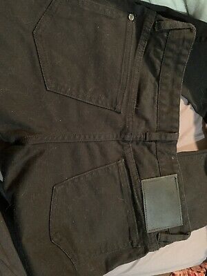 Globe Slim Fit Boys Black Jeans Size 12