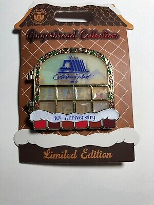 Disney Contemporary Resort Gingerbread 10th Anniversary 2019 Pin Godmother LE