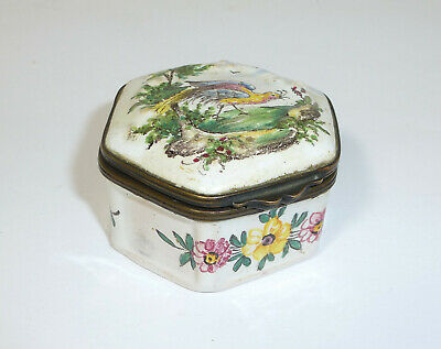 Hand-Painted Tin France End XIX Century