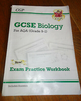 New Grade 9-1 GCSE Biology: AQA Exam Practice Workbook (with Answers) by CGP...