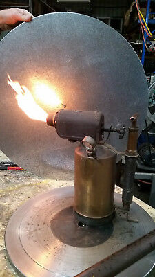 Vintage Primus No 607 Blowtorch 3 Lt - Slodering - Plumbing
