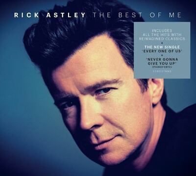 Rick Astley - The Best of Me - Double CD Album (Released 25th October 2019) New