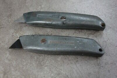 Quality tool: pair of STANLEY packet knives, 299 & 99 E