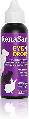 RenaSan Eye Drops 60ml - For all animals, horses, dogs, cats, small and large &