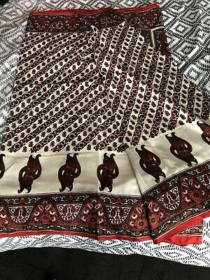 Pure Silk Vintage saree home furnishings draping
