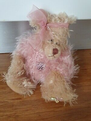 Settler Teddy In Pink Jumper With Jewel