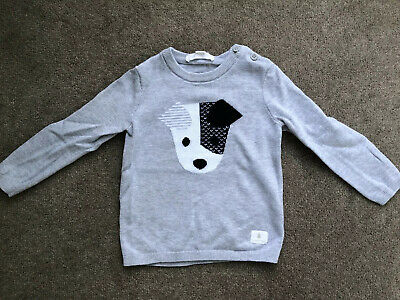 Country Road Dog Cotton Sweater Size 18-24 Months