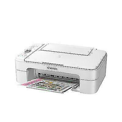 Canon PIXMA TS3120 Wireless All-in-One Inkjet Printer - White.-new, Never Opened