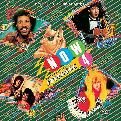 Various Artists - Now That's What I Call Music! 4 - UK CD album 1984/2019