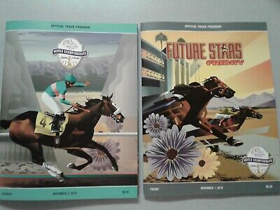 2019 Breeders Cup Horse Racing Friday & Saturday Programs Mint Enable Accelerate