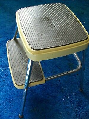Outstanding Vintage Cosco Stool Parts Cosco Stool Replacement Red Metal Beatyapartments Chair Design Images Beatyapartmentscom