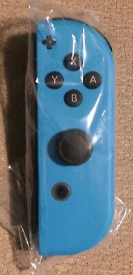 Official Nintendo Switch Neon Blue Right Joy-Con - New Unused