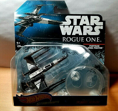 2016 Hot Wheels Star Wars Starships Rogue One Partisan X-Wing Fighter