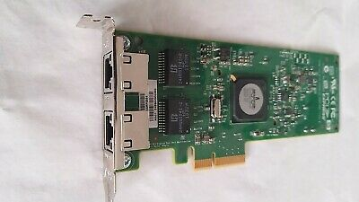 Broadcom 2 port Gigabit Network Card / Dual port NIC PCI-E short size bracket