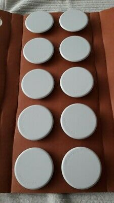 Viking Fire Sprinkler White Cover Plate Concealed Horizon Mirage B-2. LOT of 50