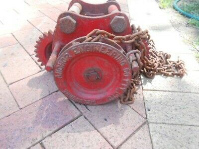 Factory Pulley made by Anchor Engineering Co Pty Ltd