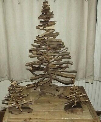 2ft Driftwood Christmas Tree, Made from Scottish Sea Loch Wood