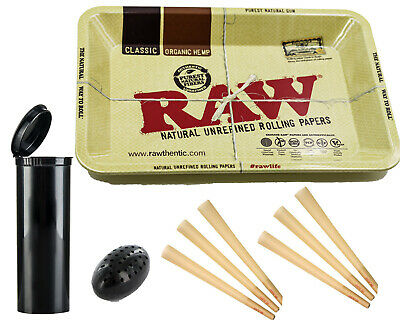 RAW Classic 98 Special Pre Rolled Cones 20 Count + Raw Mini Rolling Tray