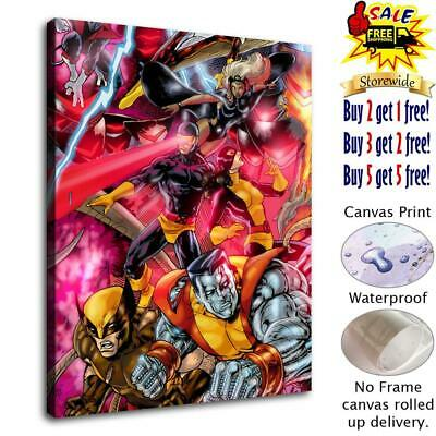 """12""""x16""""Super hero HD Canvas prints Painting Home Room Decor Picture Wall art"""