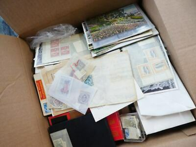EDW1949SELL : WORLDWIDE Box crammed with Mint & Used with many useful. Some P.C.