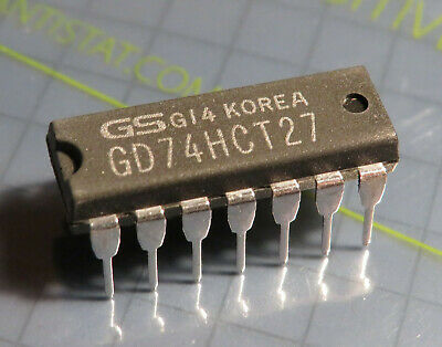 74hct27 so14 SMD triple 3-input nor Gate CMOS 74hct 27 618157