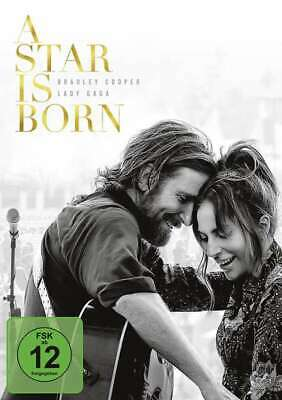 A Star is Born [2018][DVD/NEU/OVP] Bradley Cooper, Lady Gaga, Sam Elliott,