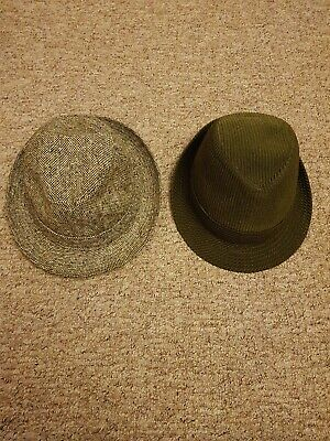 Mens Vintage Hats, 1 is Dunn & Co. Size 7 1-4