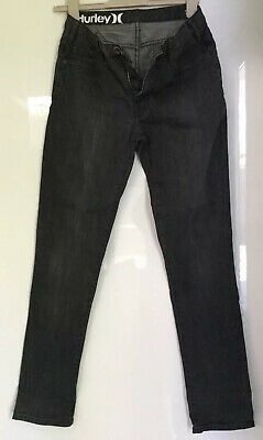 Boys HURLEY Slim Fit Jeans Size 30 - Little Bit Stretchy