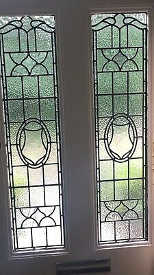 English Victorian leaded light stained glass Panels