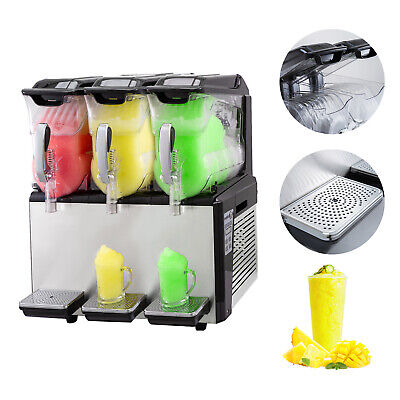 30L Machines A Granitas Slush Slushy Jus de fruit Famille Machine à glace pilée