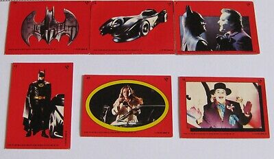 1989 Batman Topps Trading Card Stickers Joblot/Collection