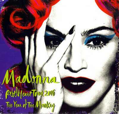 madonna cd rebel heart tour 2016 the year of the monkey