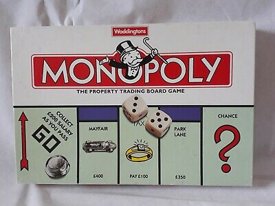 Vintage Waddingtons Monopoly 1996 Edition Board Game - (No Instructions)