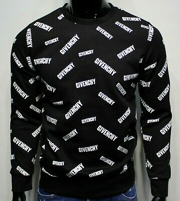 Givenchy Paris Mens Sweatshirt New With Tags, Black, Free Shipping! Do Not Miss!