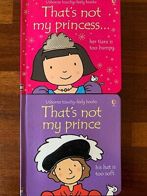 2 X That's Not My Books (princess And Prince)